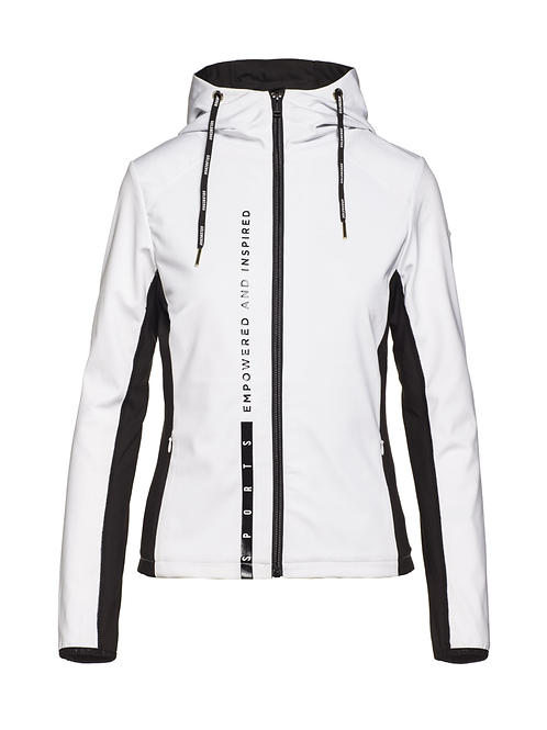 Goldbergh Jabet hooded jacket white 013505