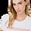 Thumbnail: Elisabetta Franchi T-shirt Burro/Nero