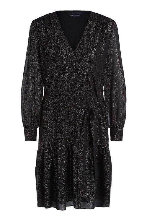 SET dress black camel