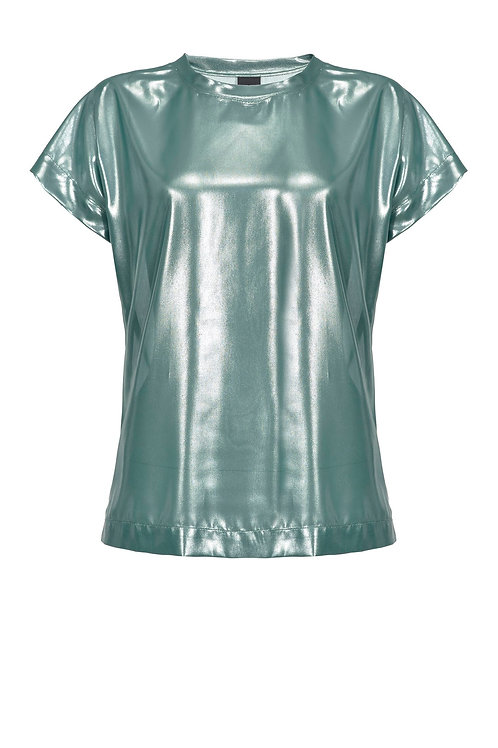 Pinko LAMINATED GEORGETTE TOP
