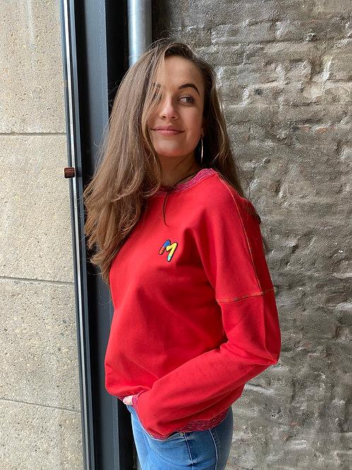 Missoni Felpa sweater red