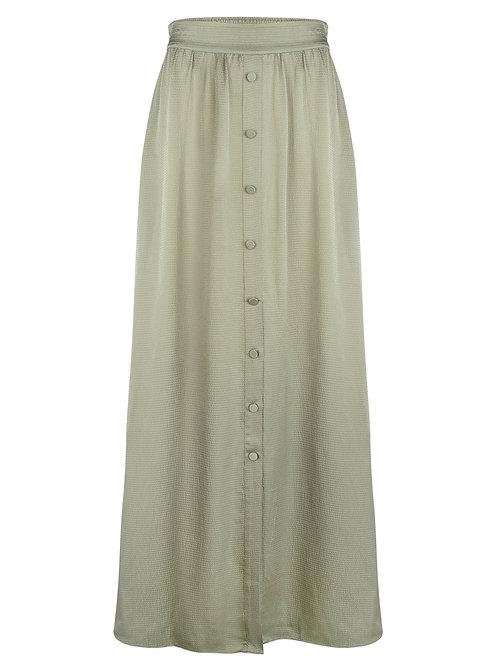 Dante long skirt Cooper sage green 014224