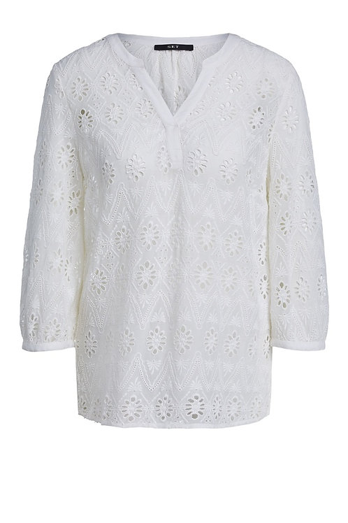 SET Blouse with embroidery detail
