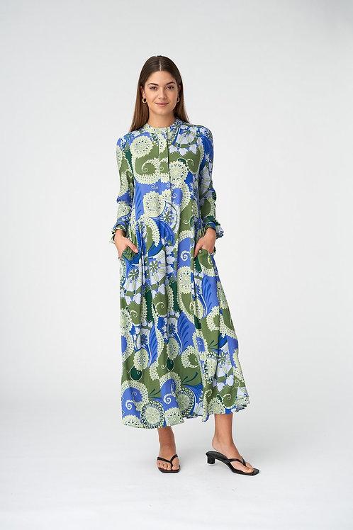 Dea Kudibal Dress Rosanna Khanga green