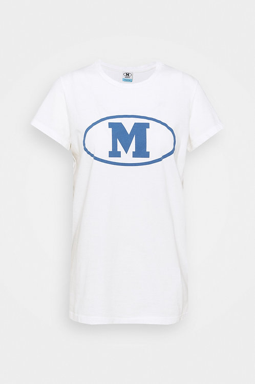 Missoni T-shirt white/blue