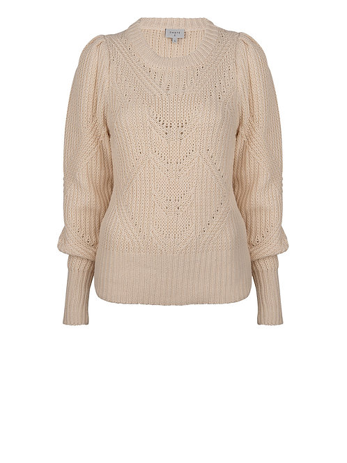 Dante-6 Sweater Clio butter cream 013674