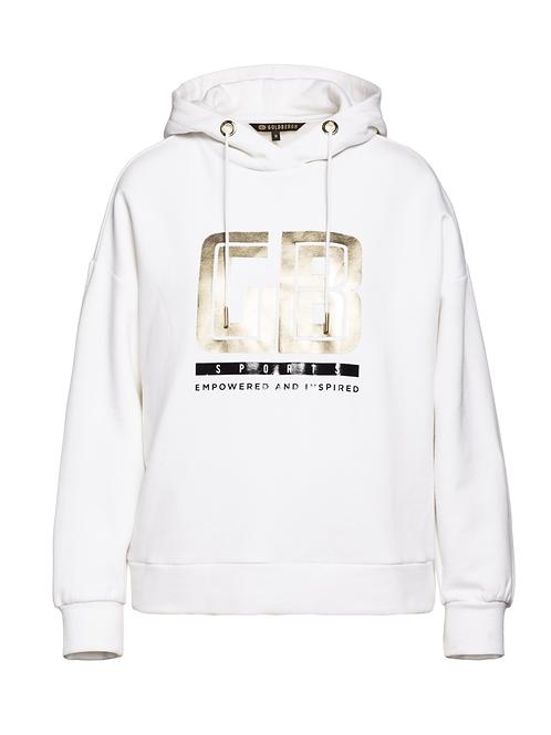 Goldbergh Fiza sweater white/god 013510