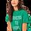 Thumbnail: ba&sh T-shirt Ellie Vert 013547