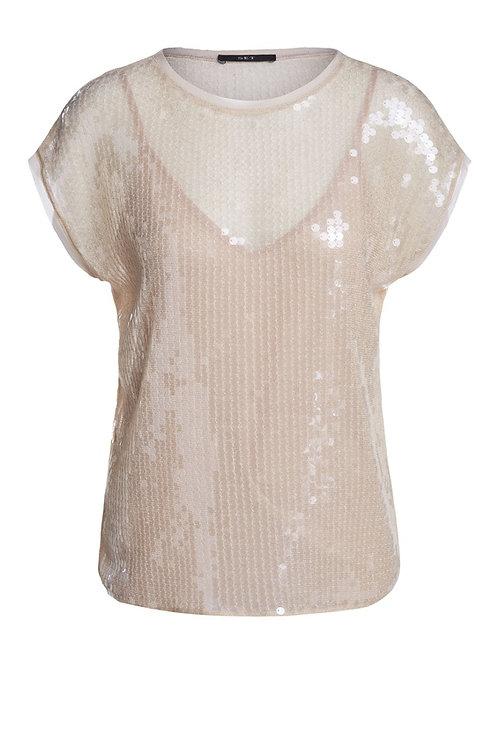 SET Festive t-shirt with sequins