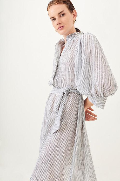 Antik Batik Kimolos Cotton Woven Dress