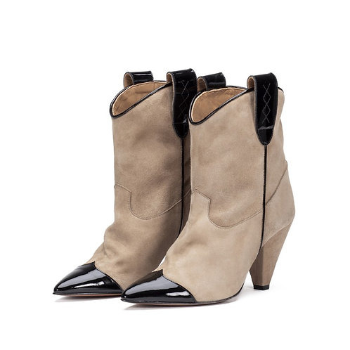 Toral Bootie black taupe