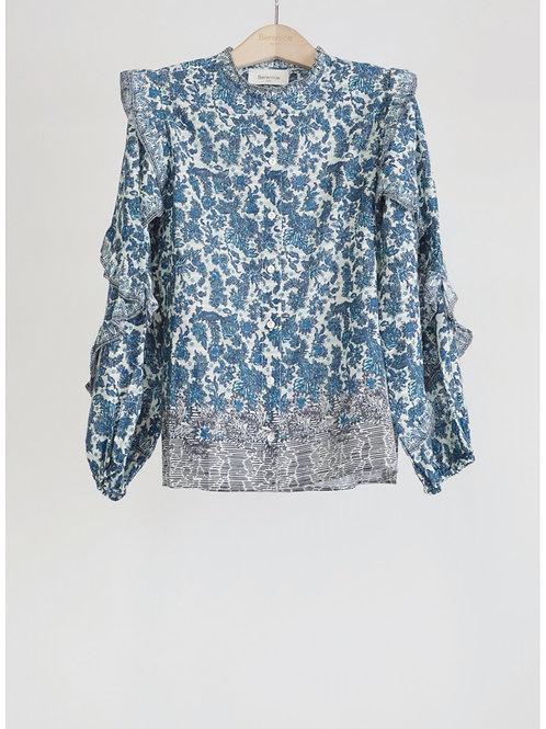 Berenice blouse volant 013454