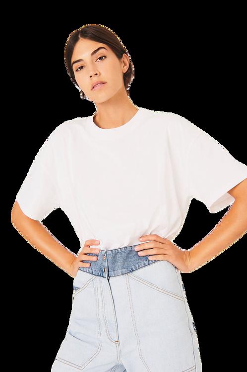 ba&sh t-shirt Amor Blanc 013429