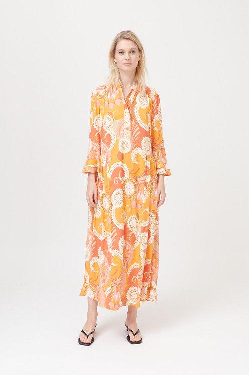 Dea Kudibal Rosanna dress Change orange
