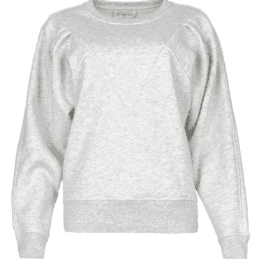 Est-Seven Sweater Grey Melange