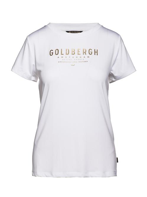 Goldbergh t-shirt Daisy white 013496