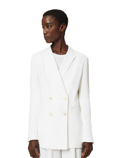 Twin-set Linen blend jacket
