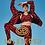 Thumbnail: Goldbergh Tiana jacket tiger red