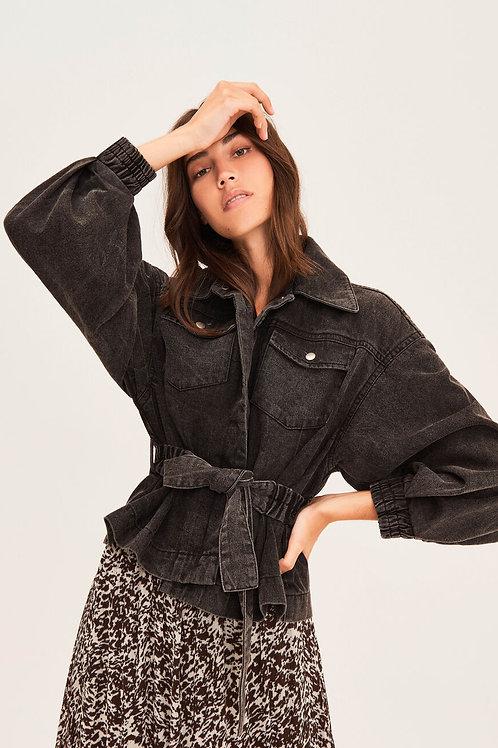Ba&sh jacket jackie carbon 013443