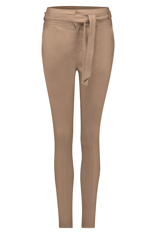 DNA Leather Ann pants pearl