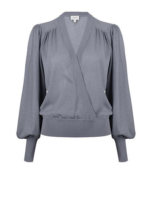 Dante sweater Valetta splash blue 014222
