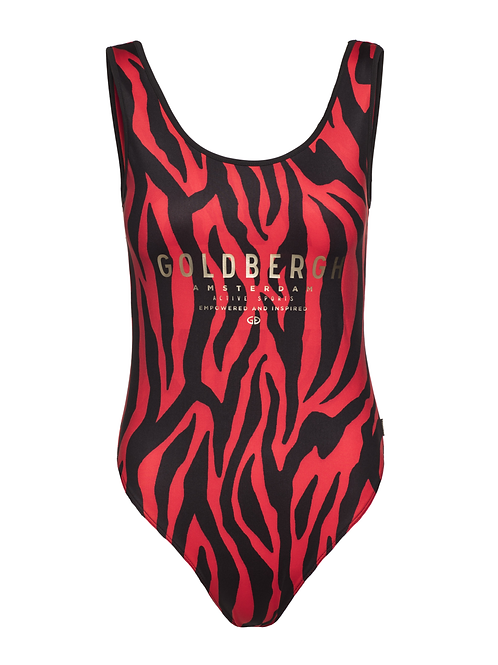 Goldbergh Tabana body tiger red 013522