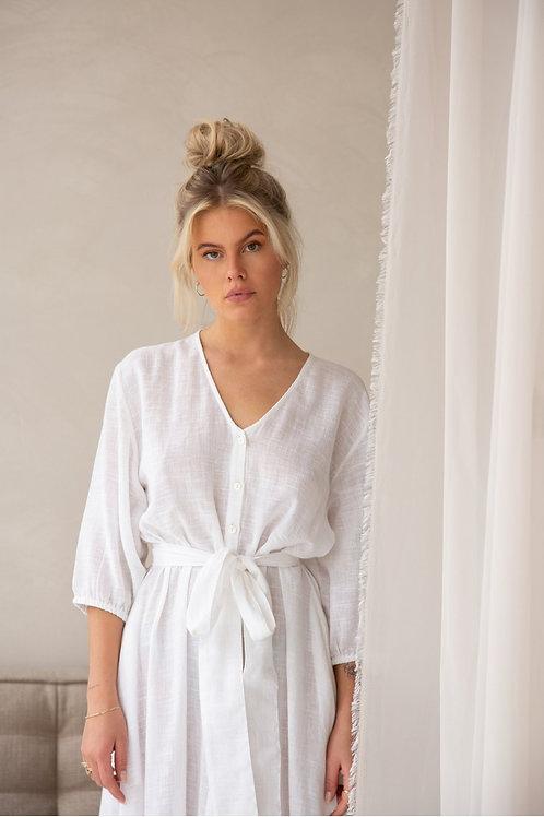 Ismay Maxime dress white