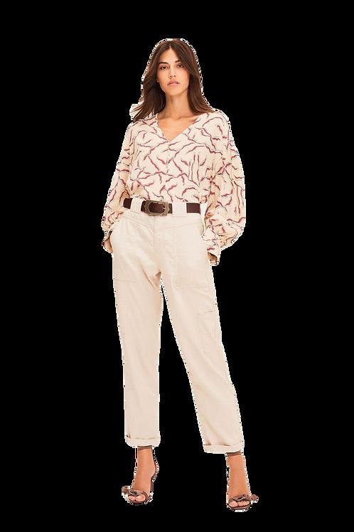 ba&sh blouse Clea