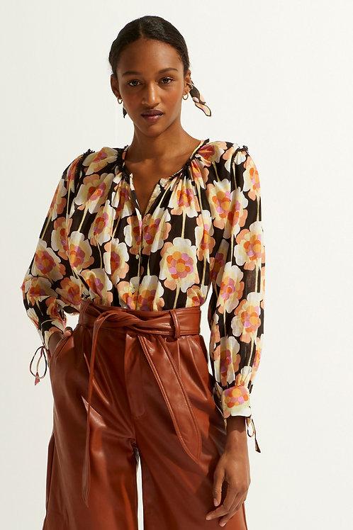 Antik Batik Flavy blouse brown 013483