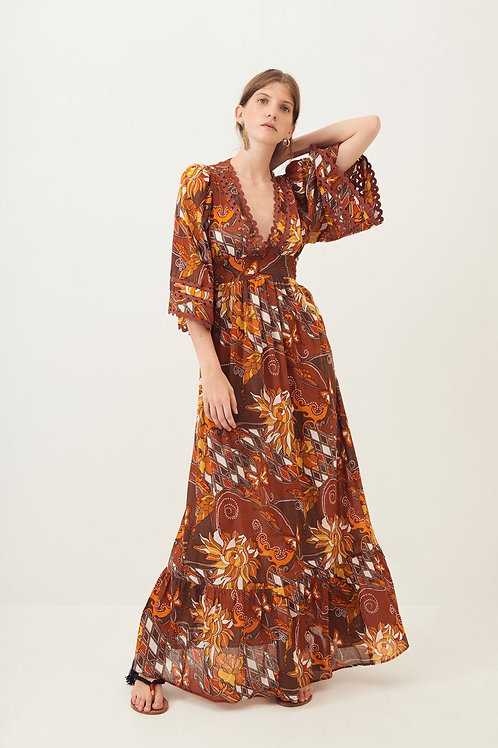 Antik Batik Ramba Flowing Maxi Dress