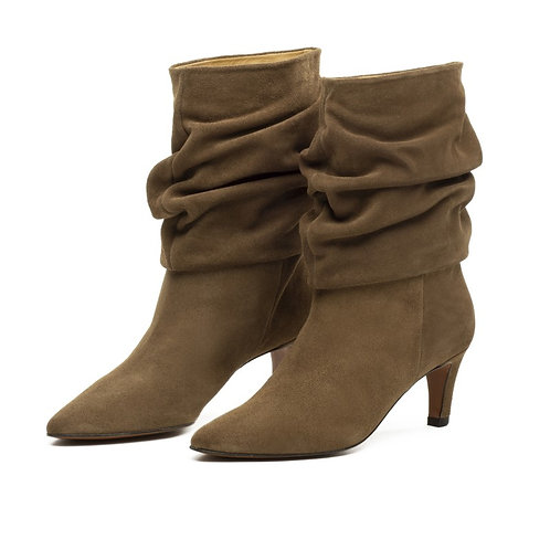 Toral Bootie Mink Oscuro