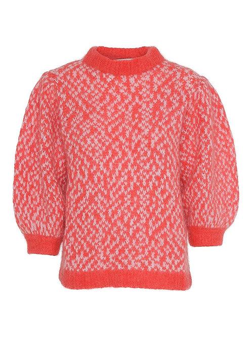 Custommade Vivil Sweater Poppy red