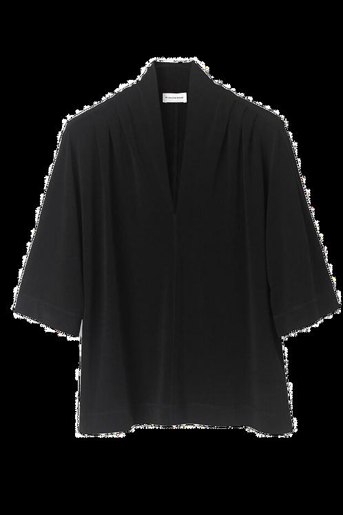Malene Birger Bijana top black
