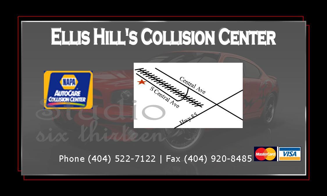 Ellis Hill Business Card Back