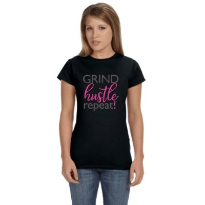 Hustle Grind Repeat T-Shirt
