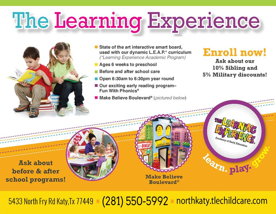 The Learning Experience Postcard