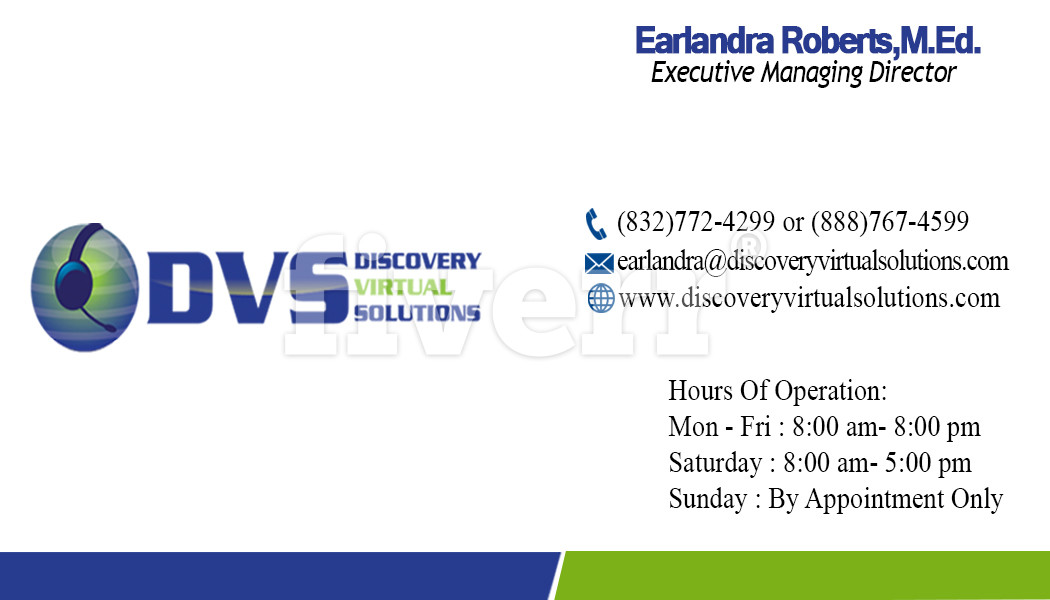 DVS Business Card Front