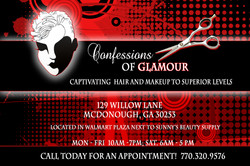 Confessions of Glamour PC Front
