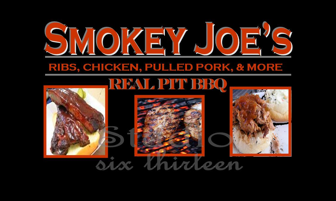 Smokey Joes Business Card Concept