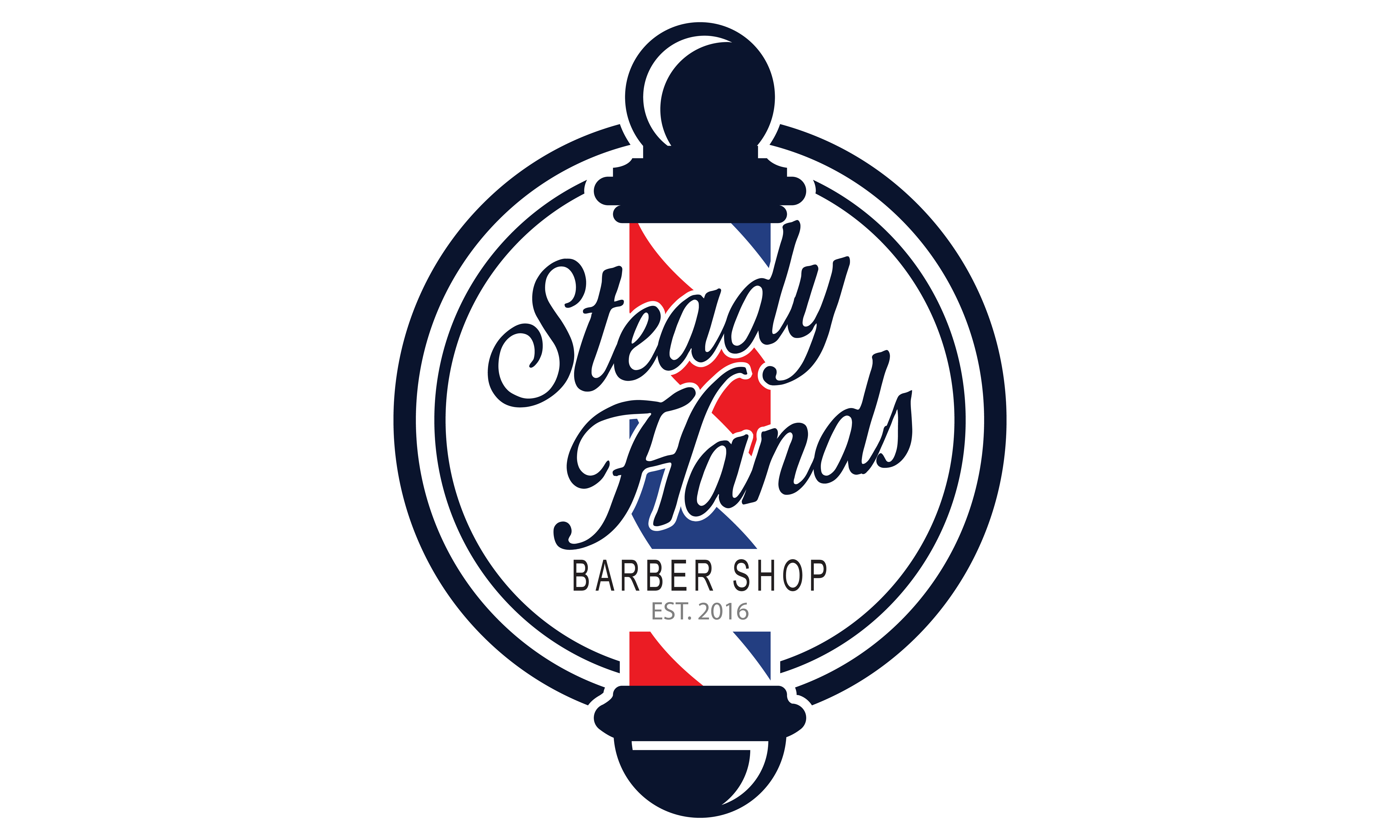 Steady Hands Logo Design