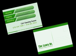 The Lawn Dr. Business Card