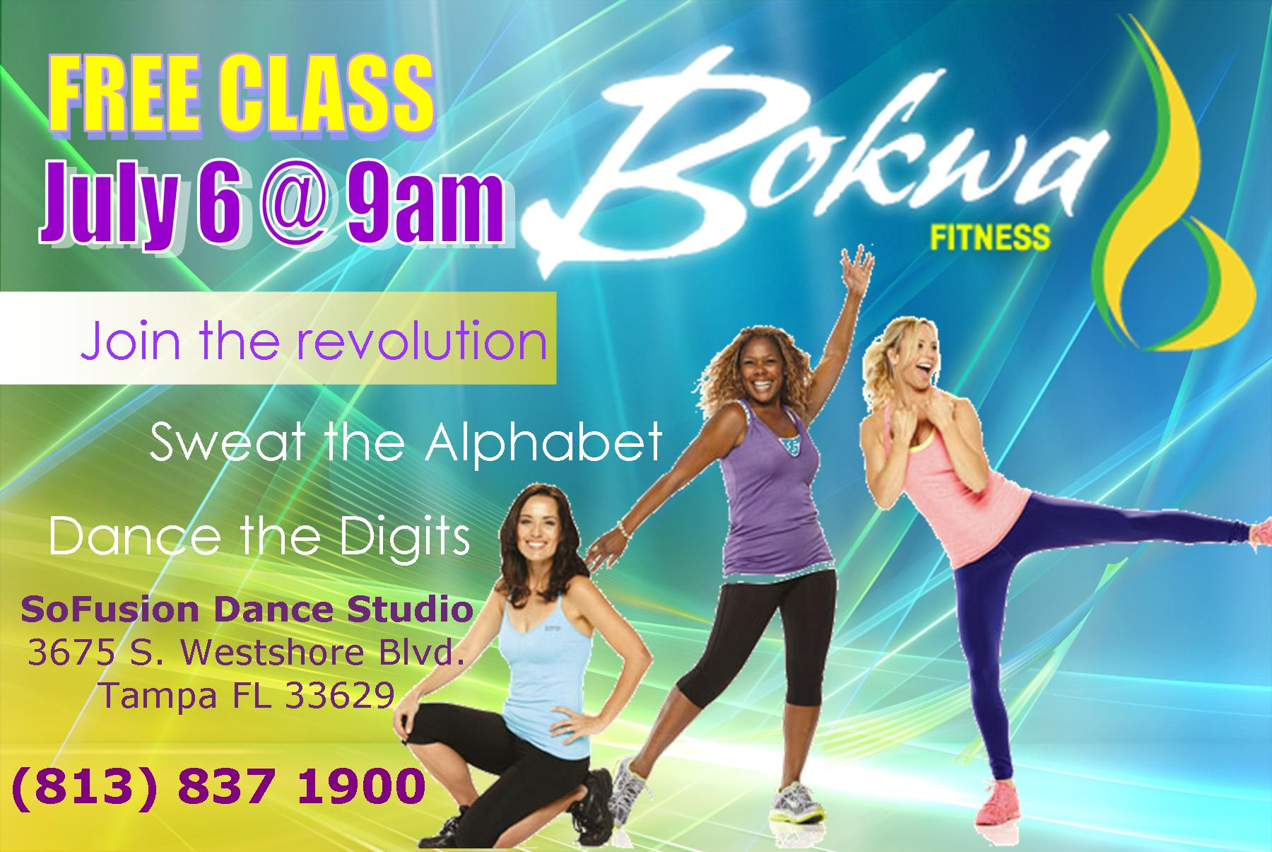 Bokwa Flyer Postcard