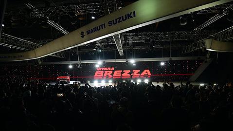 VITARA BREZZA @ AUTO EXPO 2020