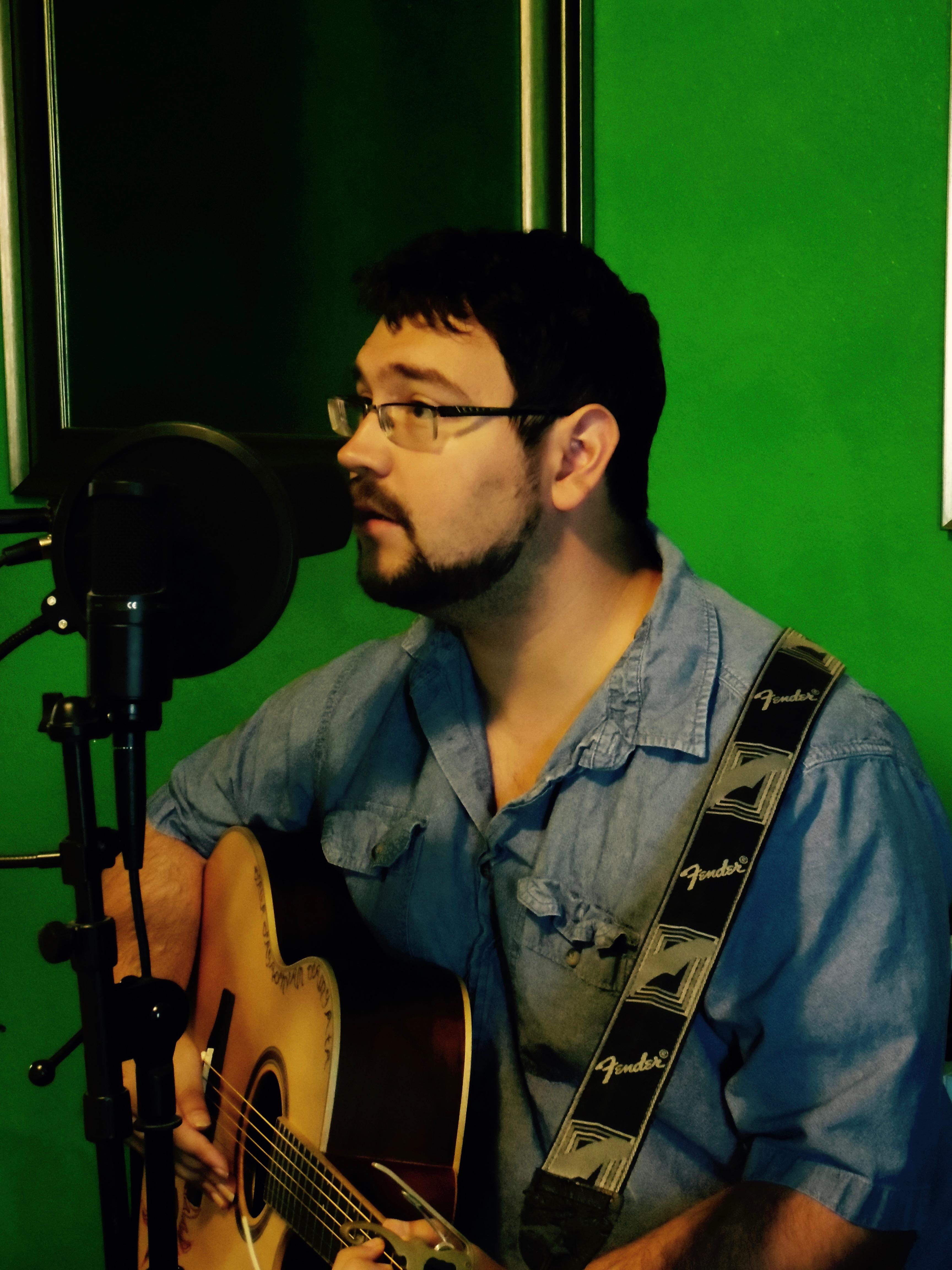 Rehearsing in Avocado Studios