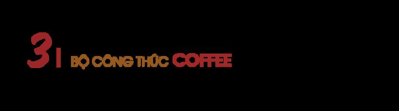 Bộ công thức cà phê