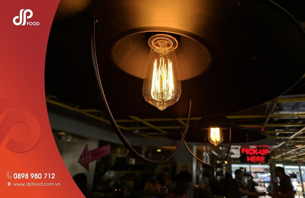 Chọn đèn trang trí quán cafe kiểu Lounge