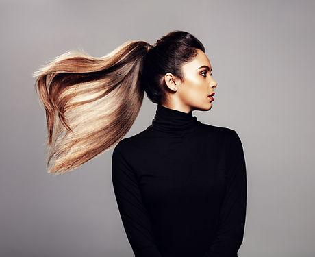 Studio Photography of a Model