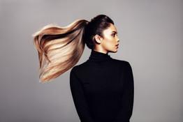 Studio Fotografi av modell