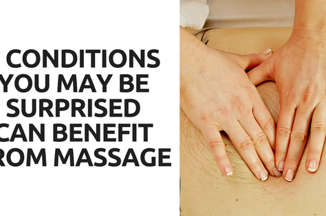 5 Conditions That Can Benefit From Massage