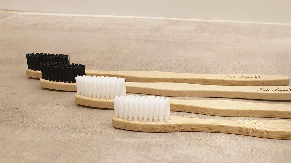 Bambukinių dantų šepetėlių rinkinys METAMS (4 vnt.)